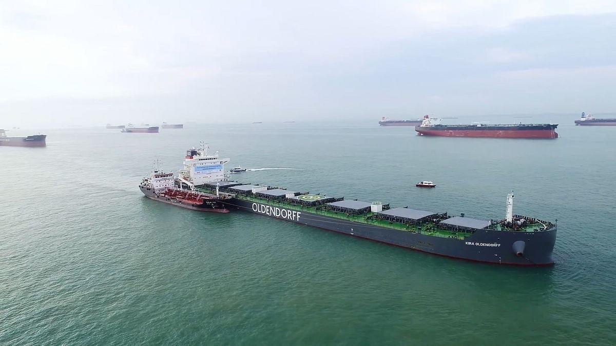BHP, Oldendorff & GoodFuels Trial Biofuel in Singapore