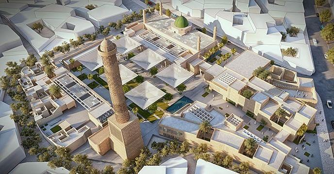 Design Competition to Rebuild Al-Nouri Mosque Complex in Mosul