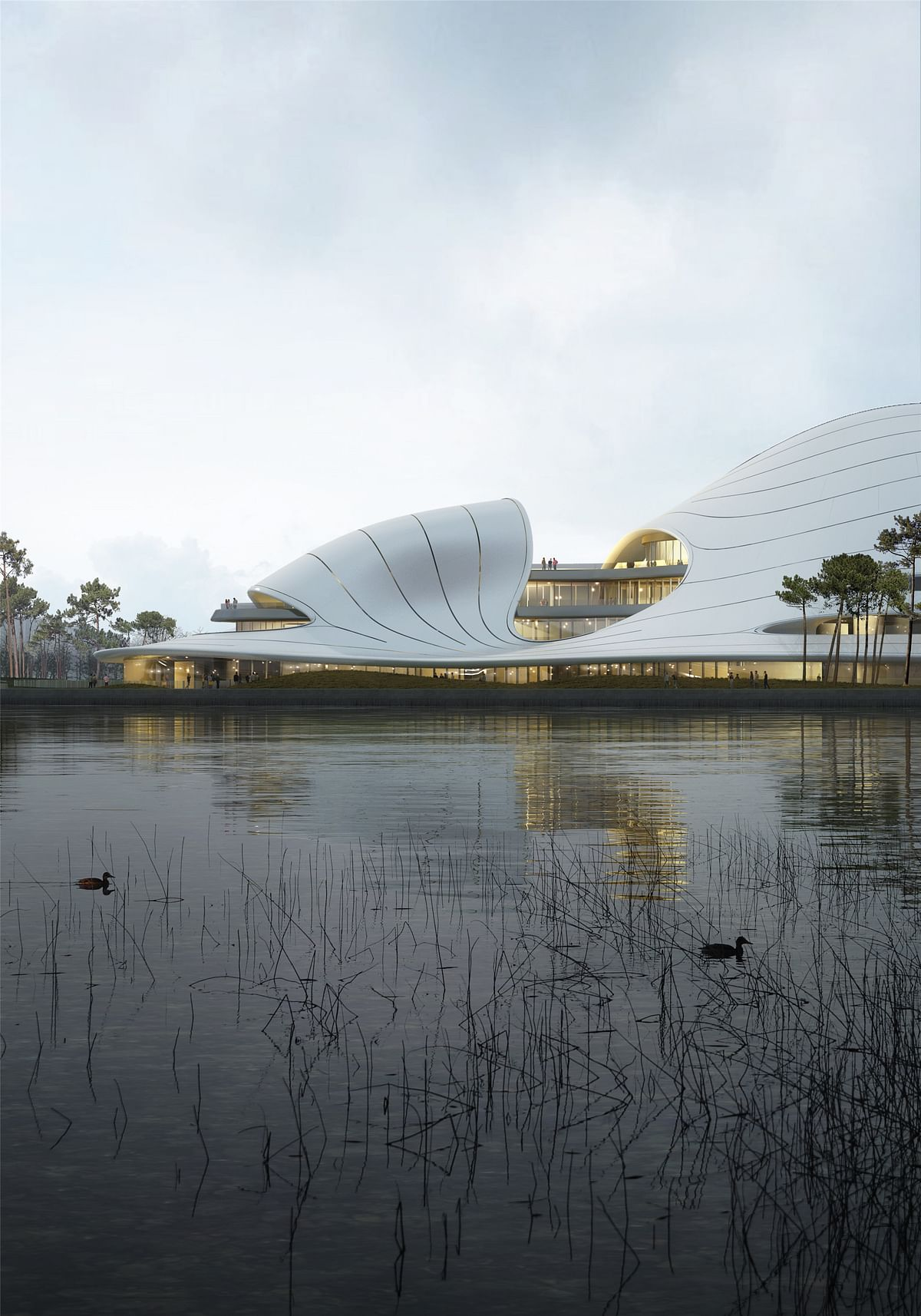 MAD Architects Releases Design of Jiaxing Civic Center