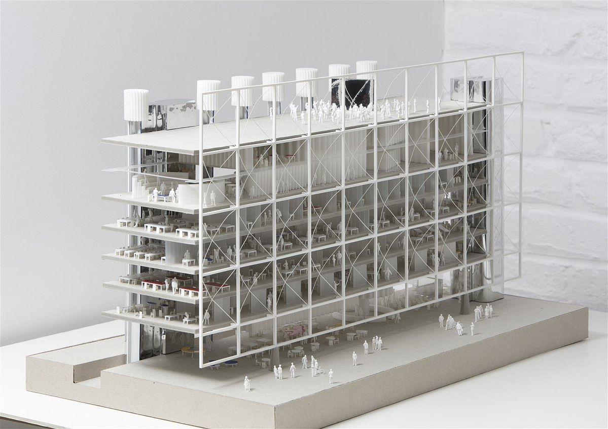 SAU Appoints BAM Interbuild - Groven+ for mediapark.brussels