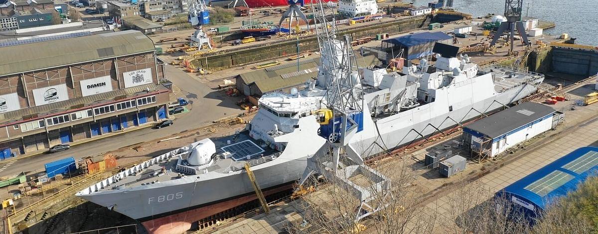 Damen Readies HNLMS Evertsen for Voyage to Japan