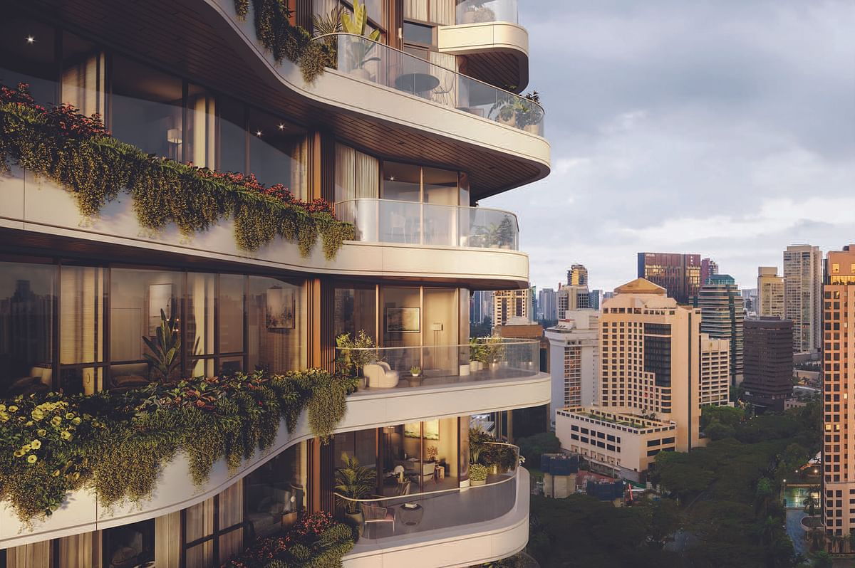 PLP Architecture Design for Residential Development in Singapore