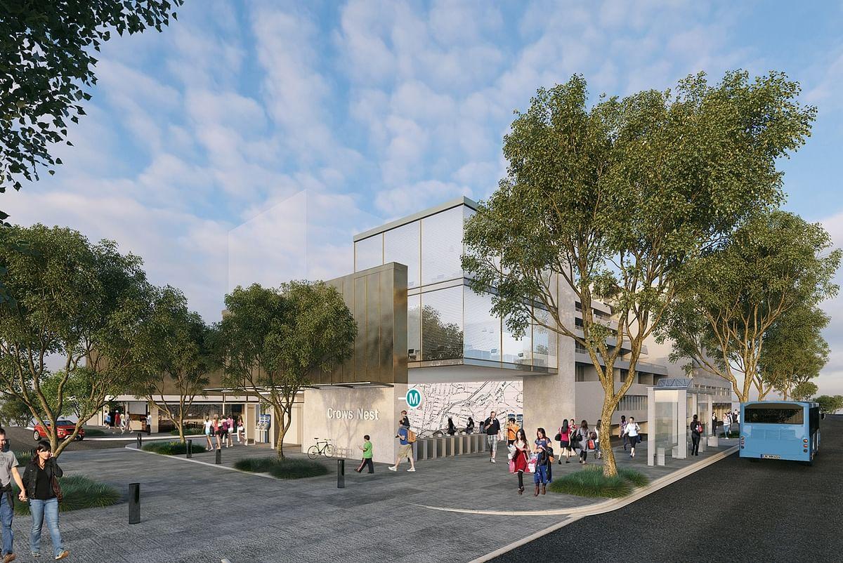 Bouygues Starts Work on Sydney Metro Crows Nest Station in Sydney