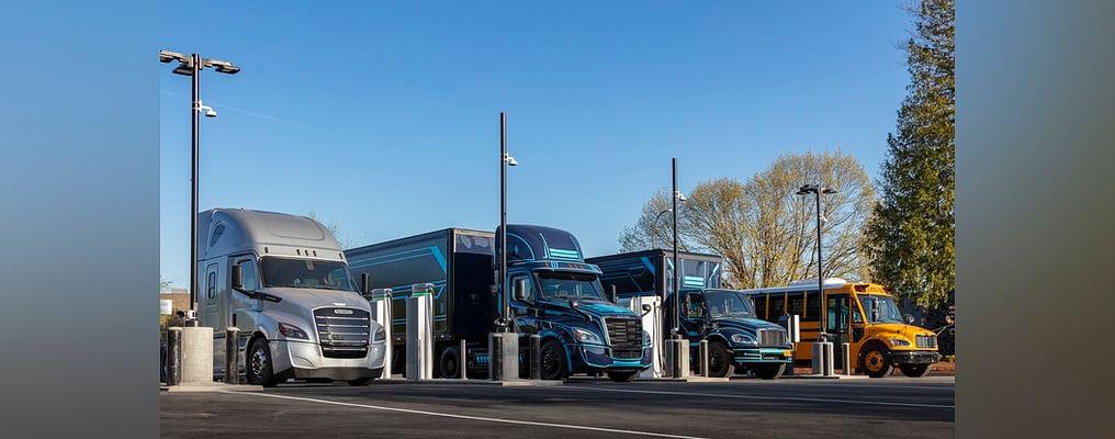 Daimler Trucks NA & Portland General Electric Open Electric Island