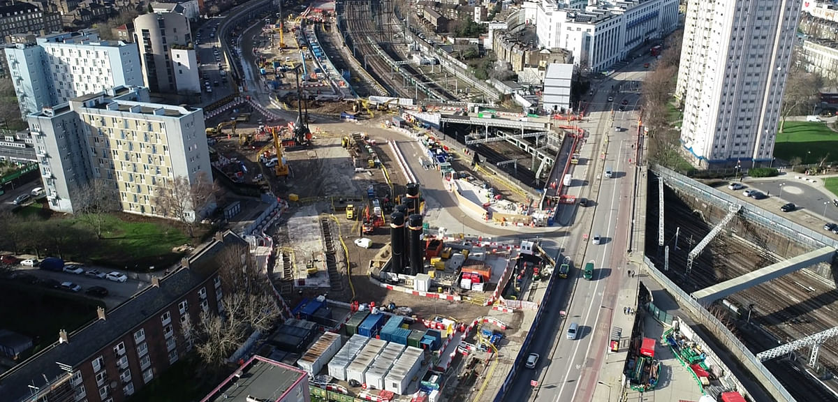 Skanska Bags Piling Work on HS2 High Speed Railway in UK