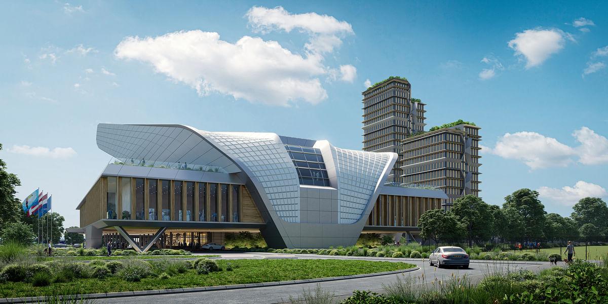 UNStudio in Winning Consortium for Congress Centre in Eindhoven