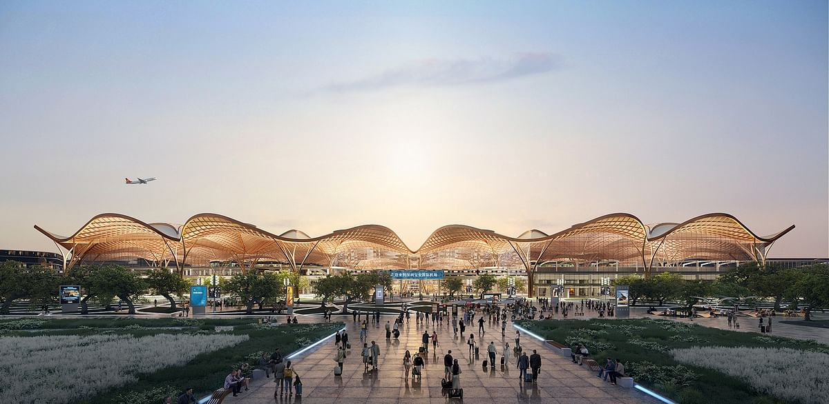 Grimshaw Wins Shenzhen Transport Hub Competition