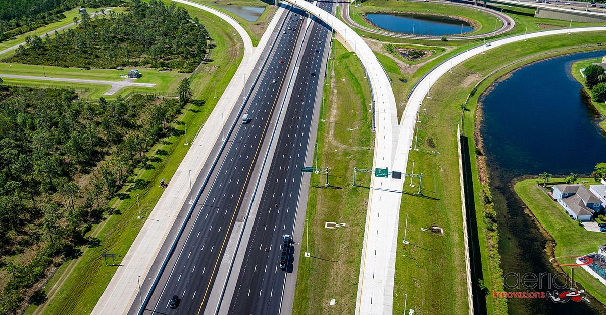 Webuild's Lane Achieves Milestone on Florida's Turnpike Project