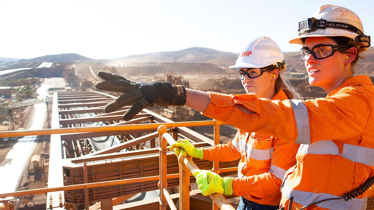 BHP Delivers First Iron Ore Production from South Flank
