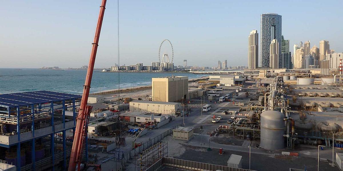 Jebel Ali SWRO Desalination Plant Producing at Full Capacity