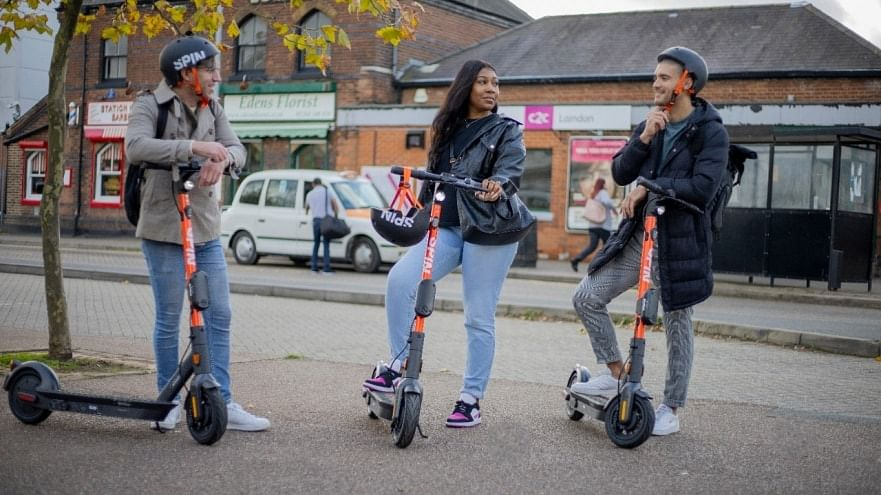 Ford's Spin e Scooters Sets Landmark in Essex