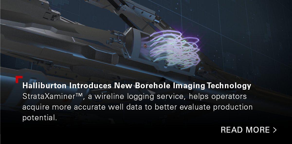 Halliburton Introduces New Borehole Imaging Technology