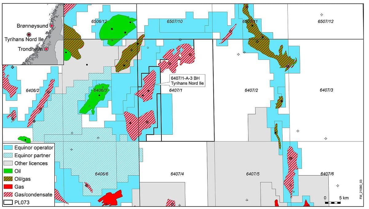 Oil & Gas Discovery in Tyrihans Field in Norwegian Sea