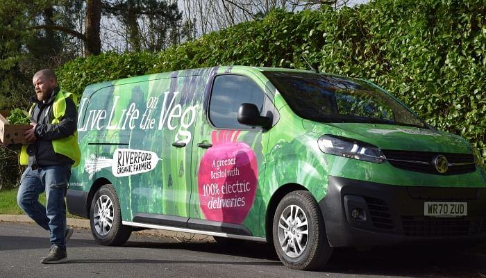 Vauxhall Vivaro-e Vans for Fruit & Vegetable Supplier Riverford
