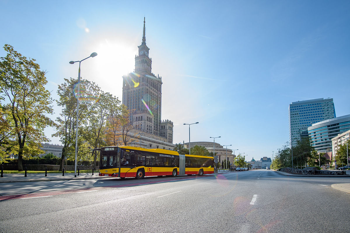 MZA Orders 30 More CNG Buses from Solaris for Warsaw