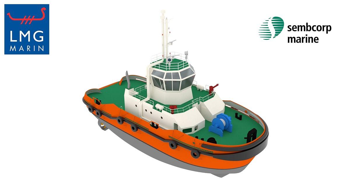 SCHOTTEL Azimuthal Hybrid Drive for LNG Hybrid Tug