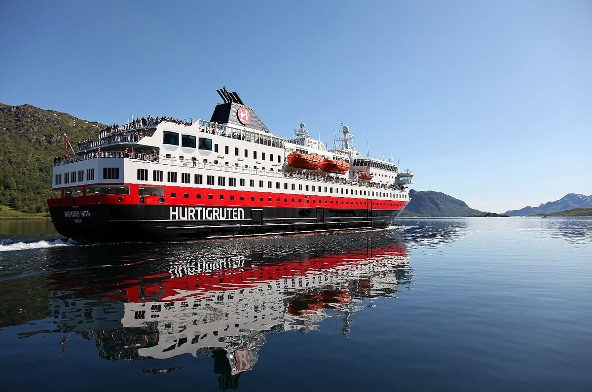 Kongsberg Maritime Green Solutions for 3 Hurtigruten Vessels