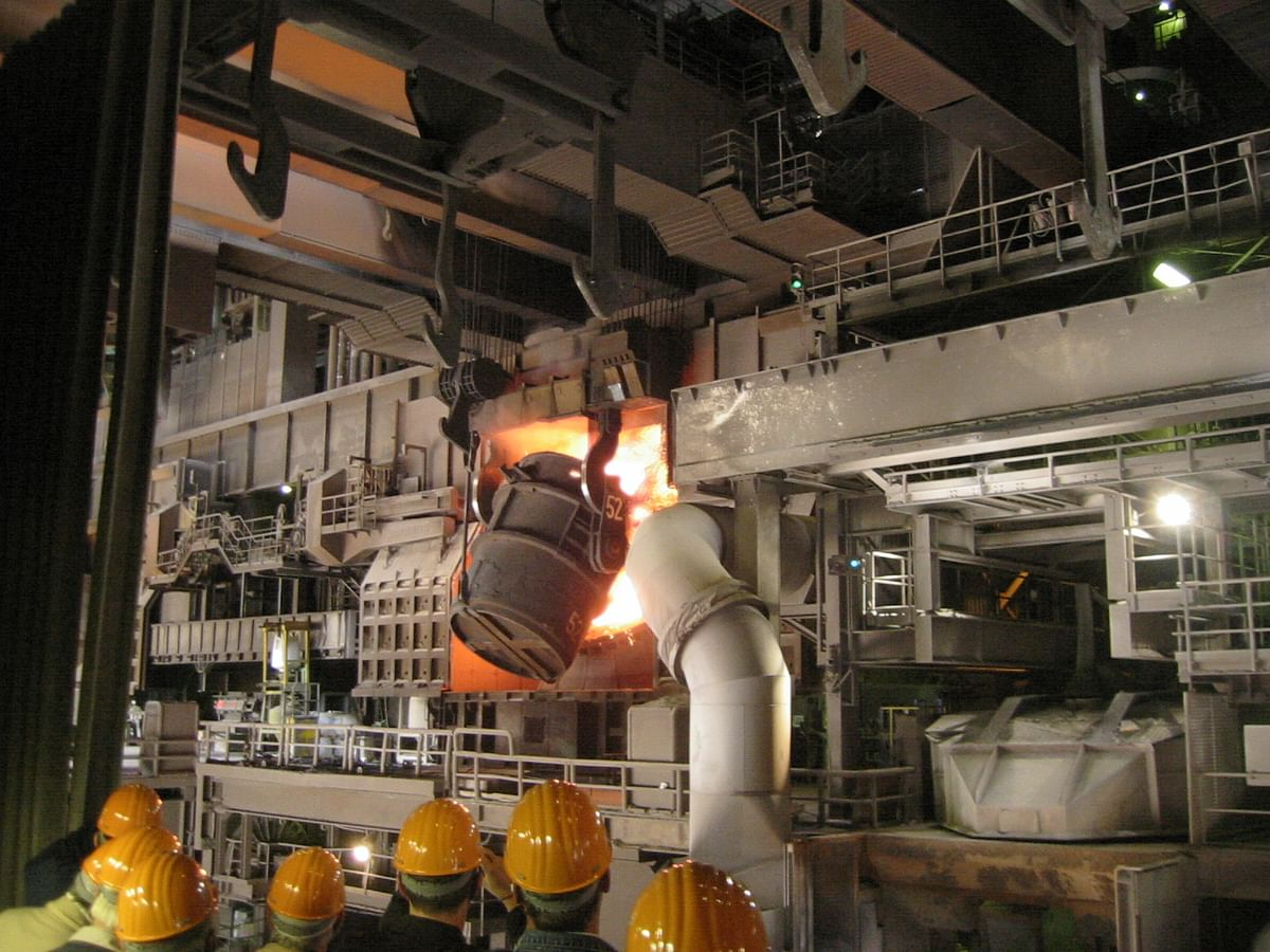 US Steel Production Capacity Utilization Slips in Week 20