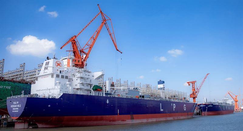 Wärtsilä Cargo Handling & Fuel Systems for Oriental Energy VLGC