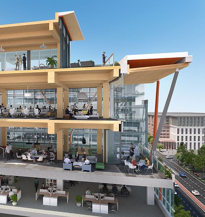 All Timber 80 M Street SE Project in Washington DC