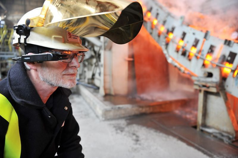 AR to Help Process Optimization in Steel Industry