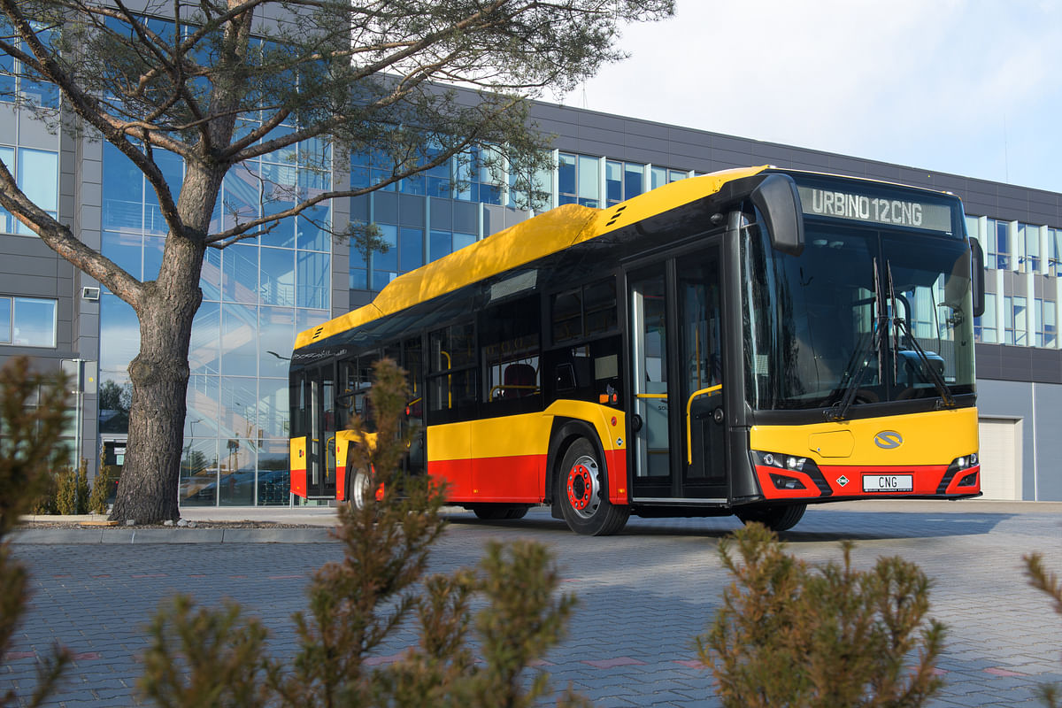 EMT Orders 250 Solaris Urbino 12 CNG Buses for Madrid