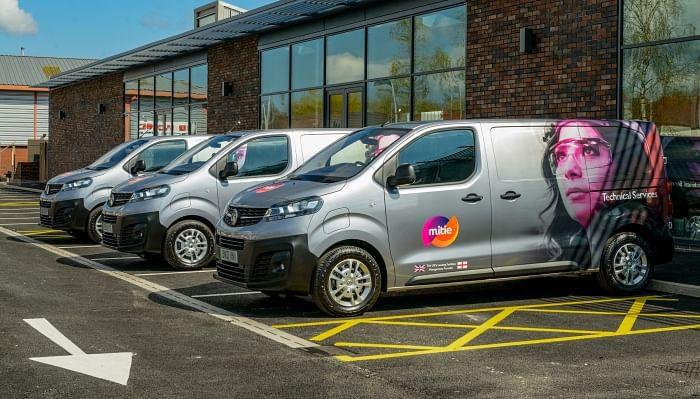 Vauxhall Supplies 655 Vivaro-e Vans to Mitie in UK