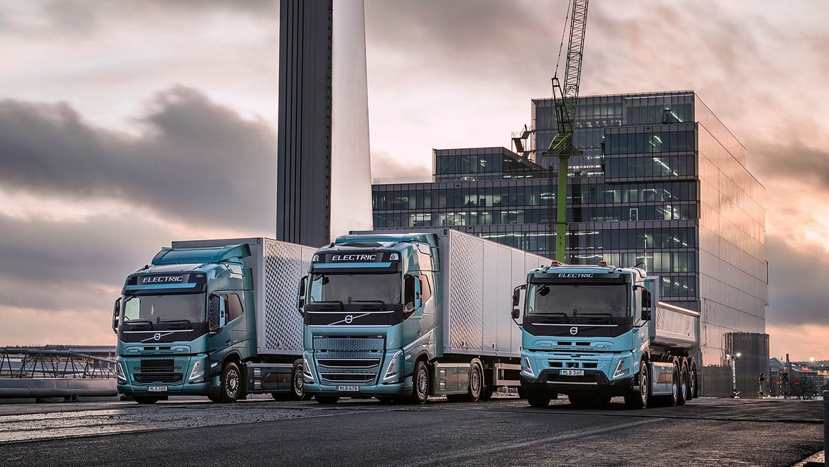 Volvo Trucks to Electrify Large Part of Goods Transports