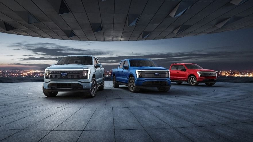 All Electric Ford F-150 Lightning Unveiled