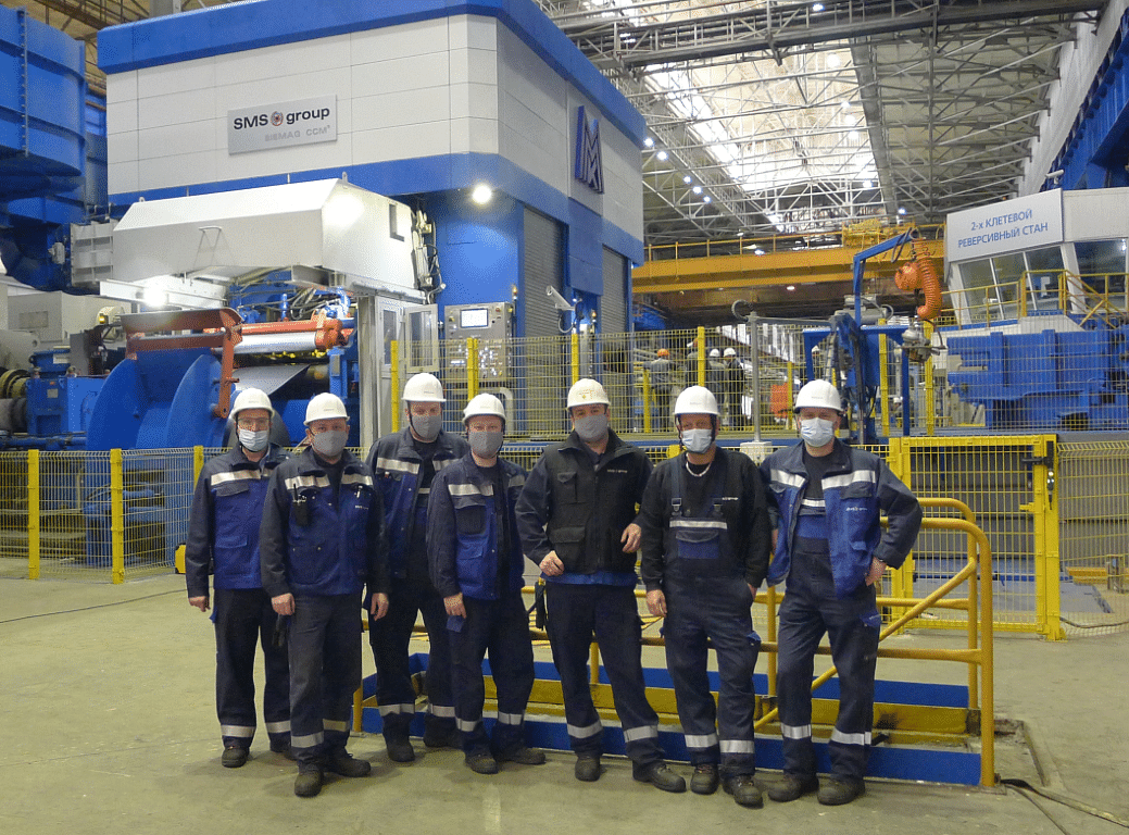 MMK Rolls First Coil on SMS Modernized 2 Stand Compact Cold Mill