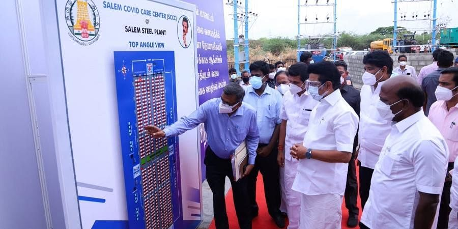 500 Bed COVID19 Facility Opens in Salem in Tamil Nadu