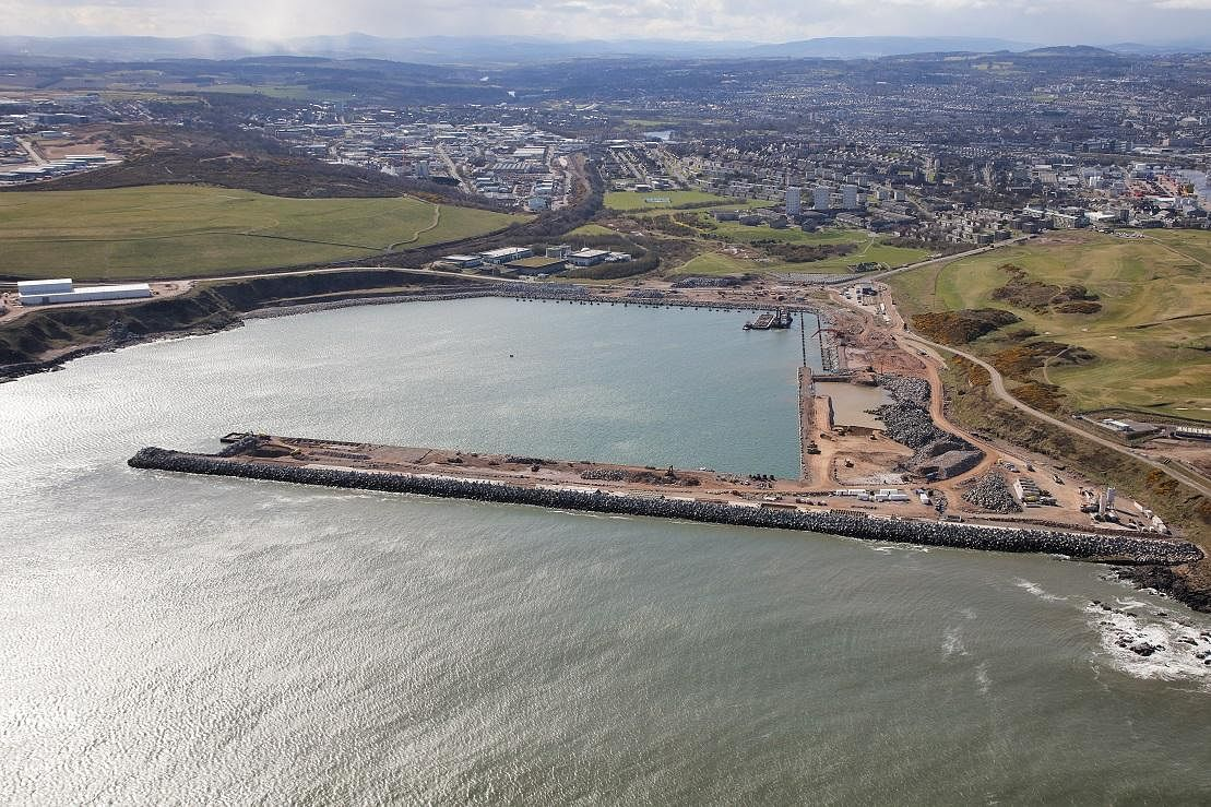Van Oord Bags Contract for Aberdeen Harbour Expansion Project