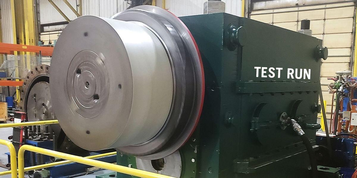 Danieli Refurbishes Mill Stand Pinion Gearboxat Nucor Gallatin HSM
