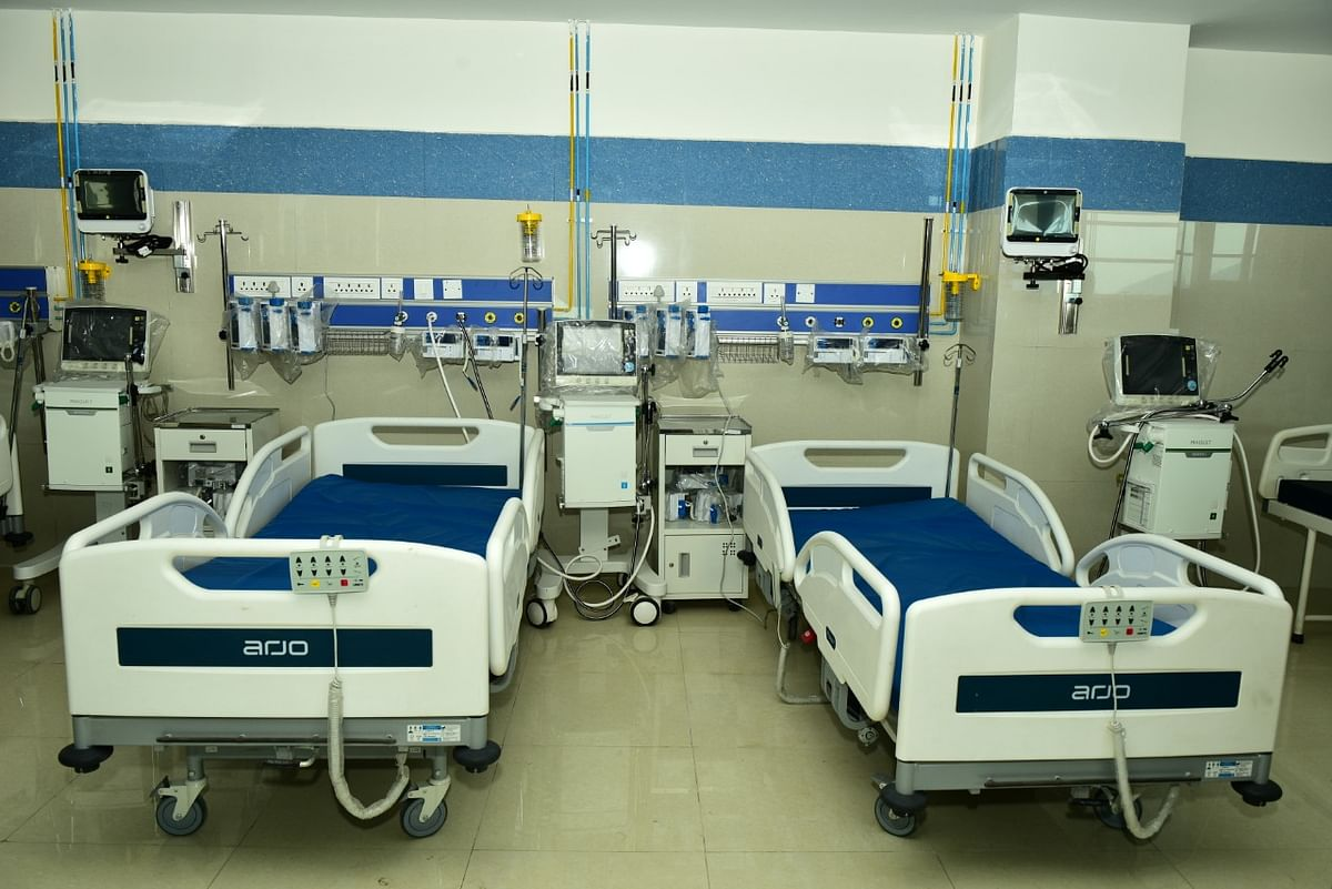 100 Bed COVID19 Facility Opens at SAIL RSP Hospital