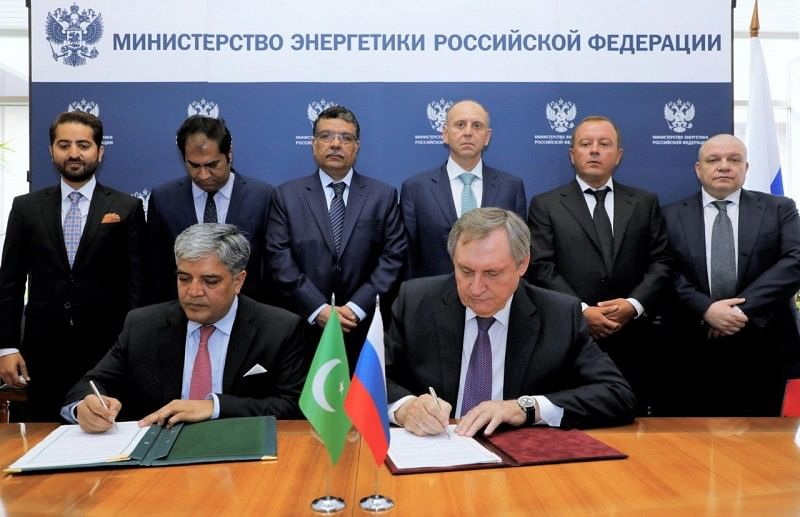 Russia Signs Pact for Gas Pipeline Construction in Pakistan
