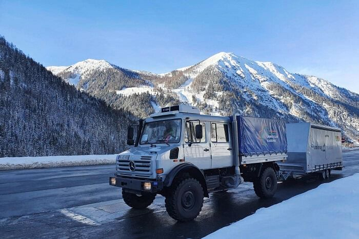 Unimog Delivered Relief Supplies to Earthquake Victims in Croatia