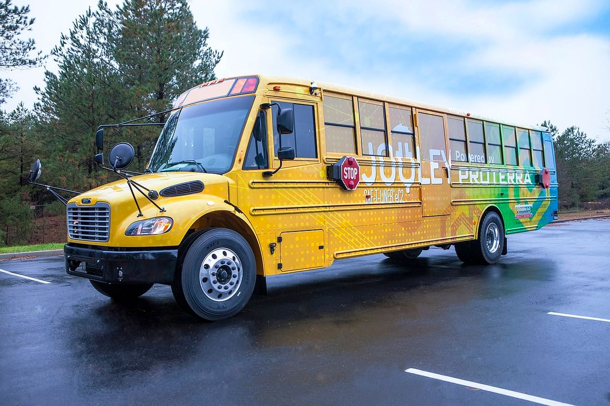 Thomas Built Buses Delivers 50th Proterra Electric School Bus