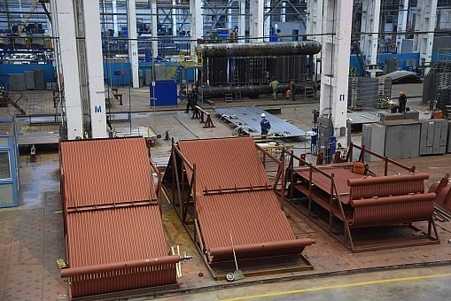 OMK Belgorod Plant Supplying Boiler Components to NLMK