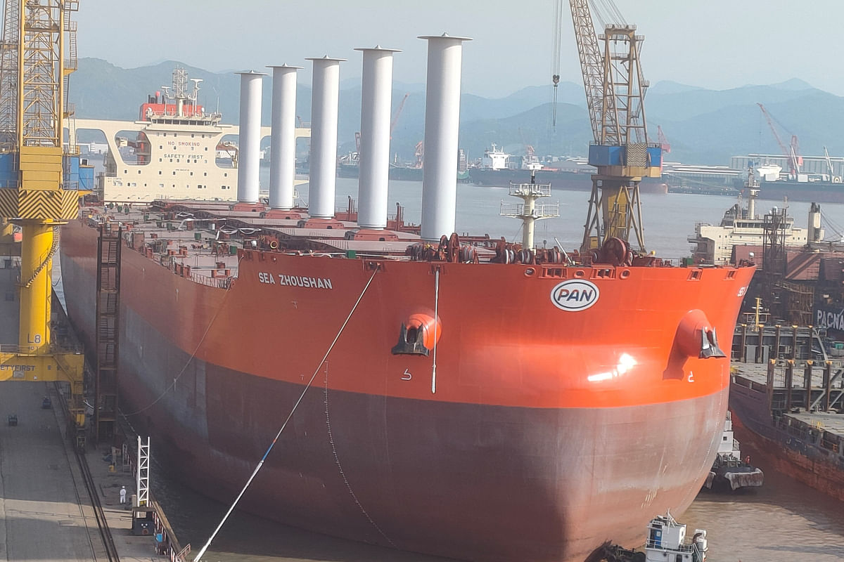 Norsepower Announces Newport Shipping Partnership