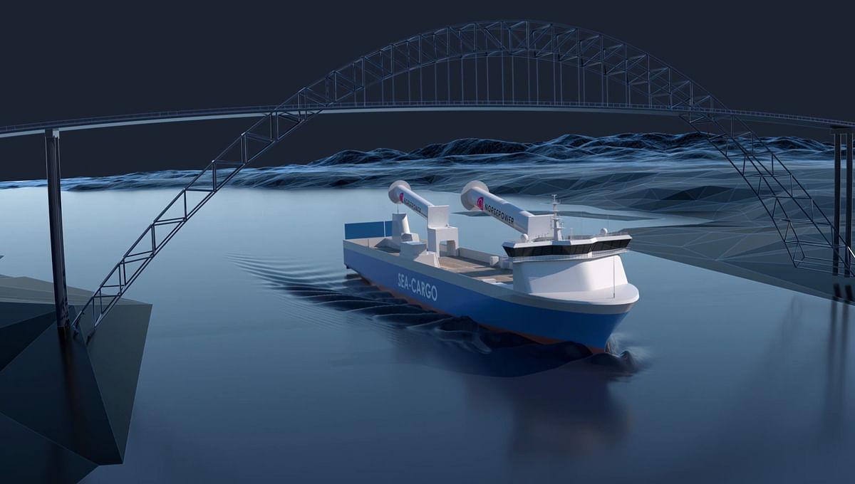 SEA-CARGO's Tilting Rotor Sails Deliver Instant Operational Result