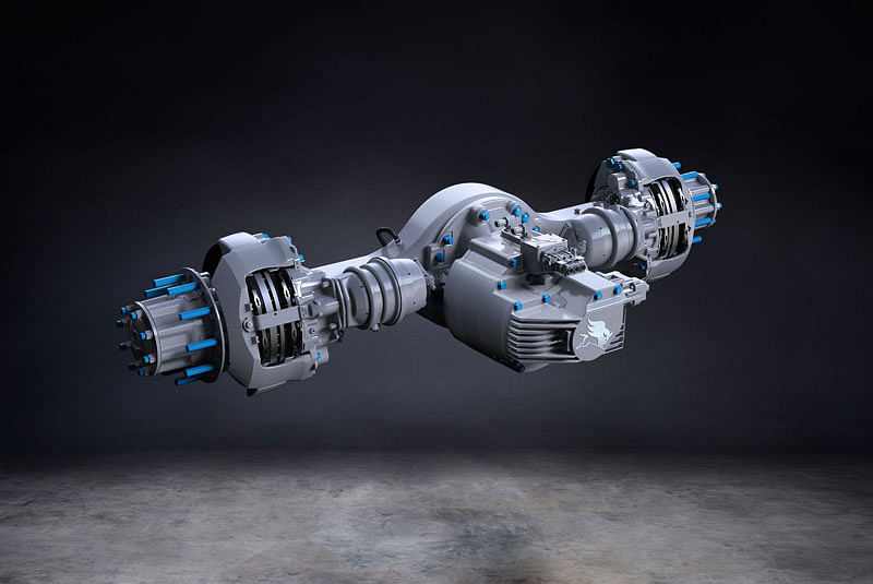 Hexagon Purus Selects Meritor for Electric Powertrains