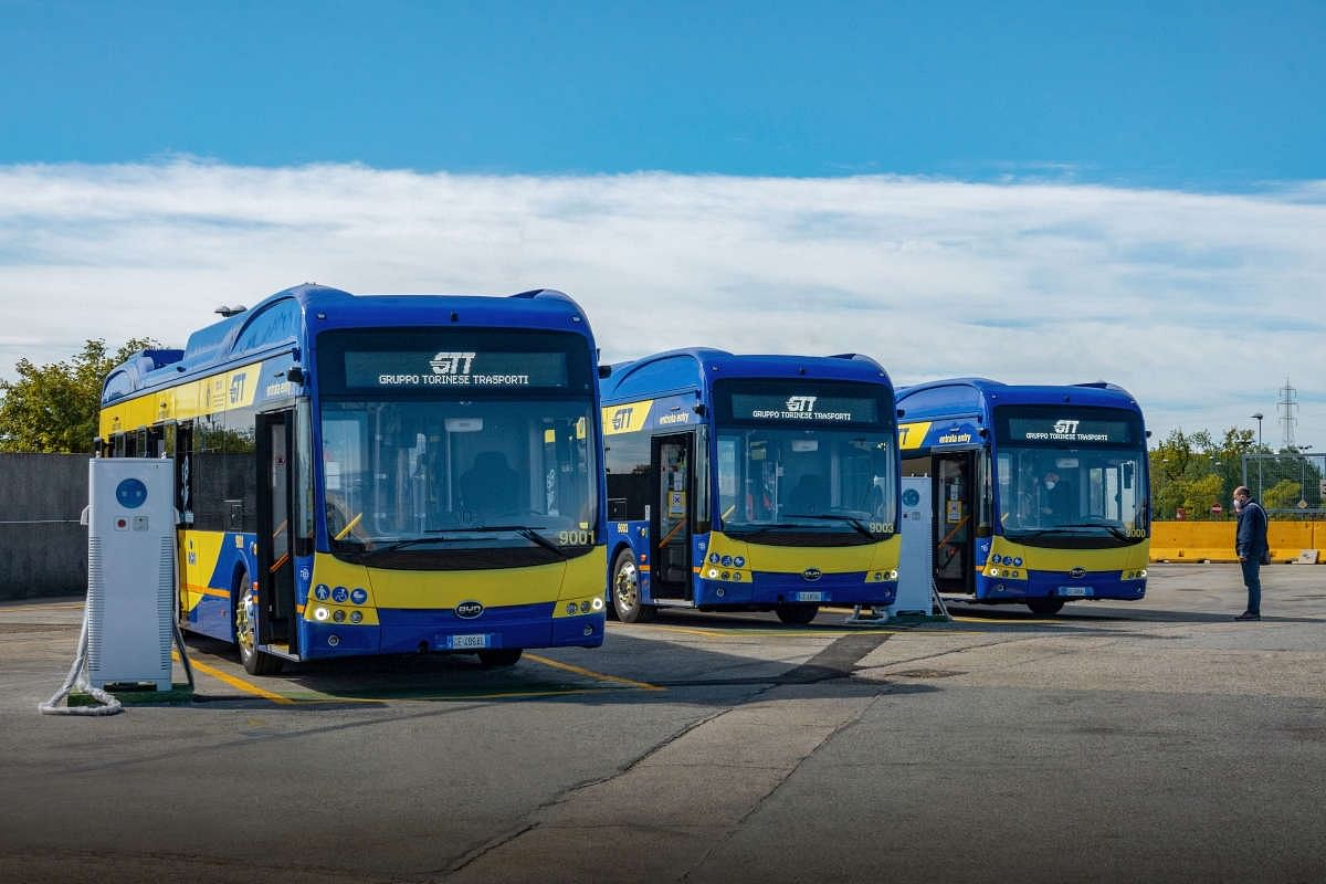 BYD to Supply 50 Electric Buses for Turin