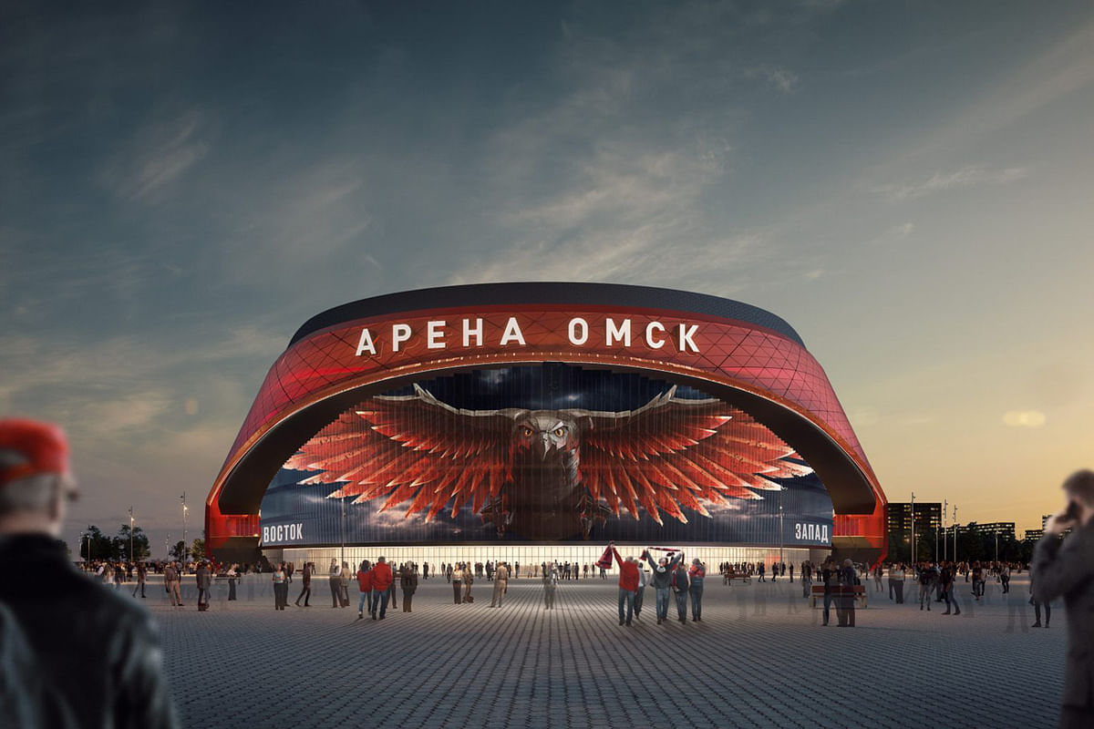Mechel Supplies Steel for Ice Rink in Omsk