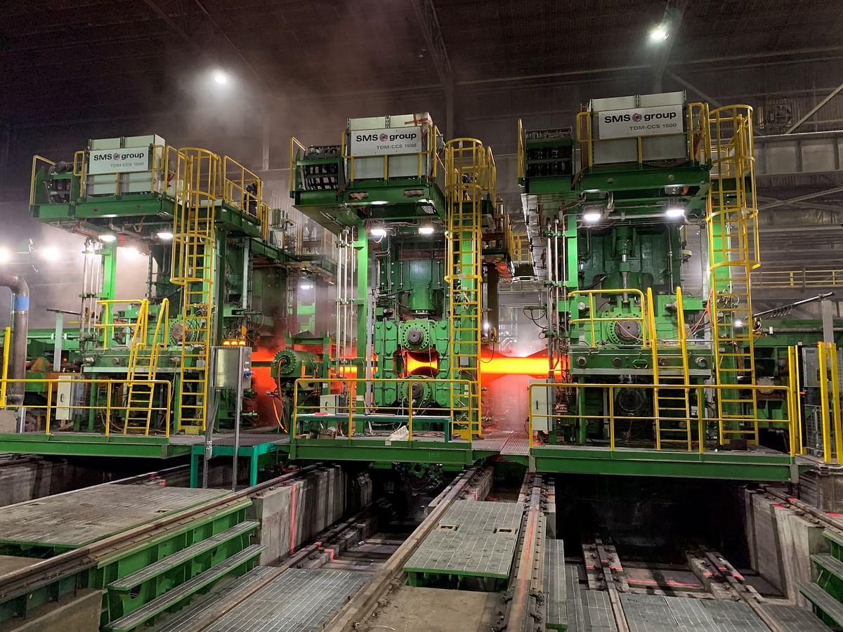 Nucor Yamato Steel Grants FAC to SMS Heavy Beam Mill Revamp