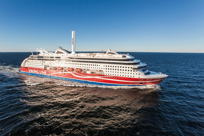 Norsepower Rotor Sail Tested by Viking Line Since 2018.