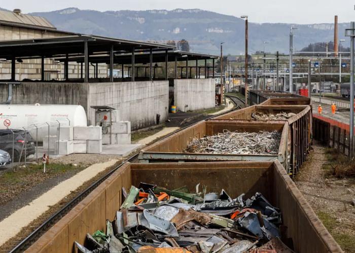 AFV Beltrame's Stahl Gerlafingen Switches to Rail for Scrap