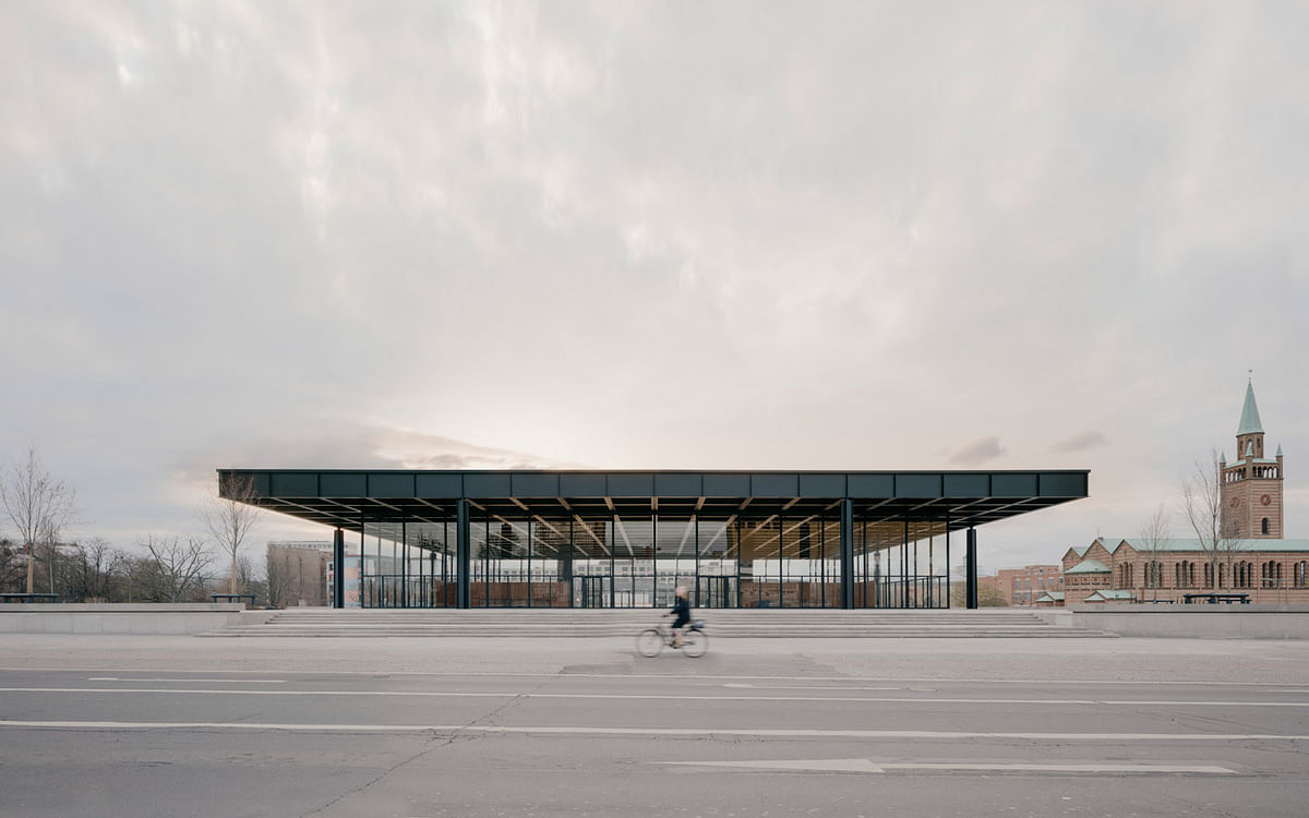 Neue Nationgalerie Museum in Berlin Completed