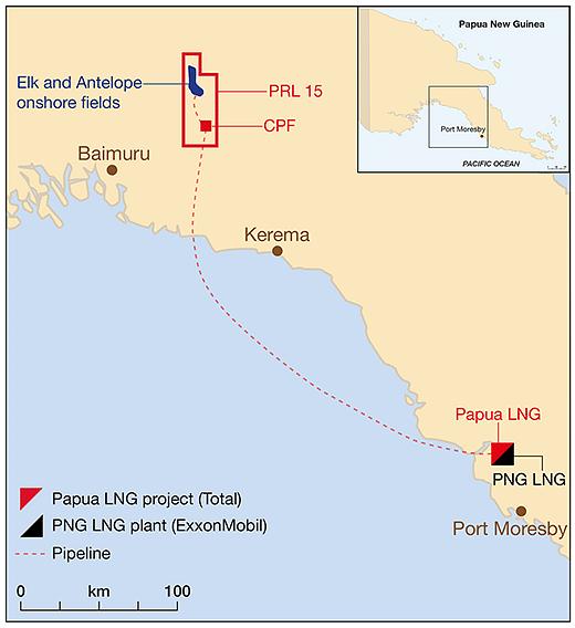 Total Confirms Remobilization of Papua LNG Project