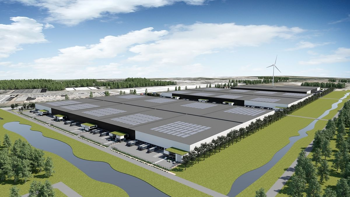 P&O Ferrymasters Builds Warehouse at Genk in Belgium