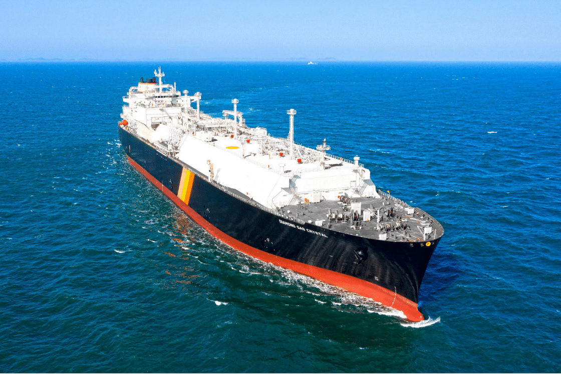 LNG Carrier Diamond Gas Crystal Delivered for LNG Canada Project